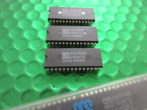 Details about Z8430AB1, Z80ACTC, SGS Z80 CPU COUNTER TIMER CIRCUIT X2!