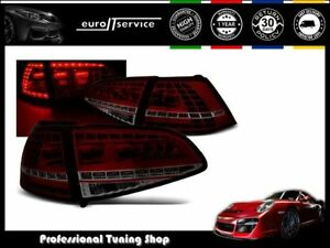 feux arriere ensemble ldvwg1 vw golf 7 2013 led gti look. Black Bedroom Furniture Sets. Home Design Ideas