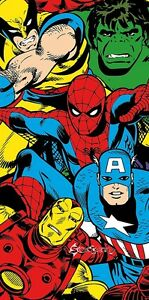 Official-Marvel-Comics-Cotton-Beach-Towel-Spiderman-Wolverine-Avengers-Xmen-Gift
