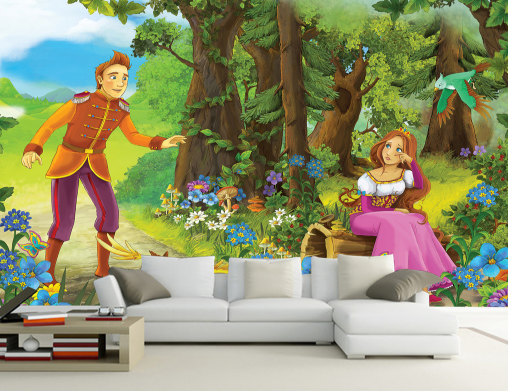 3D Forest Fairy 893 Paper Wall Print Wall Decal Wall Deco Indoor Murals