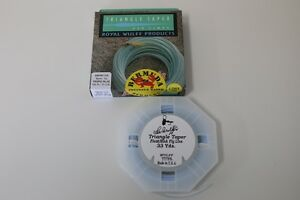 Royal Wulff Bermuda Triangle Taper Lost Tip Saltwater 7 WT Fly Line ON SALE