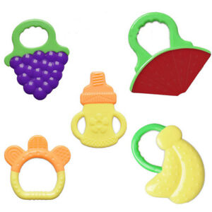 Image is loading Baby-Silicone-Teething-Soother-Gum-Toy-Infant-Medical- 35bc83c48