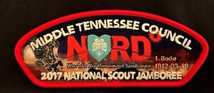 MIDDLE TENNESSEE COUNCIL OA LODGE 111 2017 JAMBOREE NORWAY NORD JSP GLOW 65 MADE