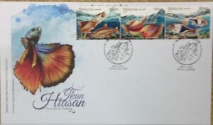 Malaysia FDC with Stamps (30.01.2018) - Ornamental Fishes