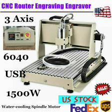 Router Usb Port Cnc 6040 3axis Engraver 3d Engraving Drilling Milling Machine Us