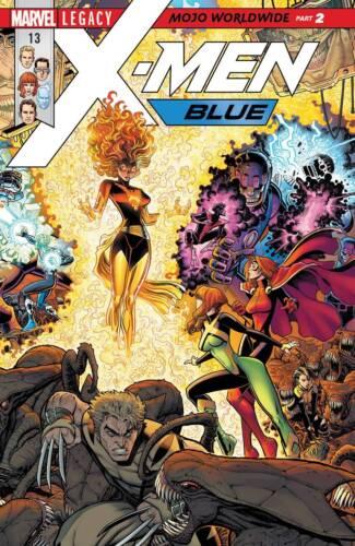 X-MEN BLUE #13 10//11//17