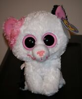 Ty Beanie Boos Muffin The 6 Cat W/ Purple Tag Mint With Mint Tags (sticker)