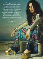 Q8 Clipping-Ritaglio 2013 Cher ...voi uomini, come dessert