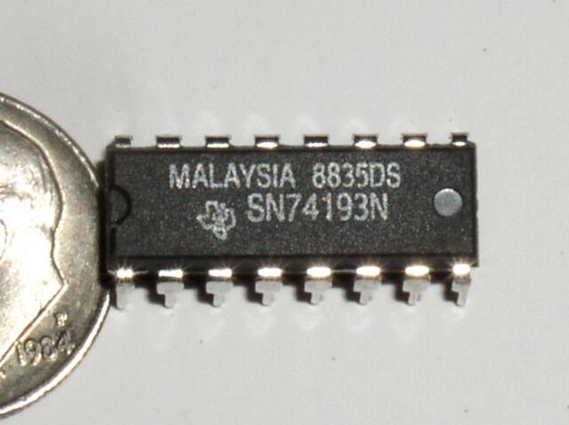 5x 74193PC Tungsram Synchronous 4 Bit Up//Down Counter IC SN74193N DM74193N