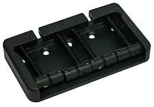 FENDER mount 5 hole 4 string Hipshot B style  black  bridge 19mm spacing