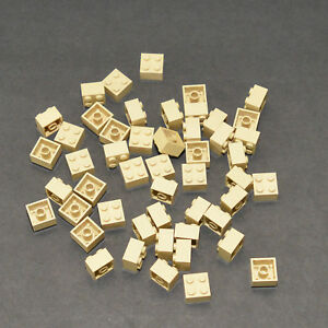 50x Lot of 1x2x2 Lego 1 x 2 x 2 Tan Harry Potter Star Wars Sand Desert Egypt 2x2