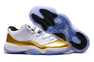 size 40 94d7d 698ea Details about 2018 New Men's J 11 Breathable Basketball Low Top Sport Shoes  Sneakers Size 7-13