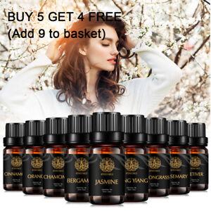 Aromatherapy-Essential-Oils-10ml-Jasmine-Vetiver-Cinnamon-Rosemary-Chamomile-Oil