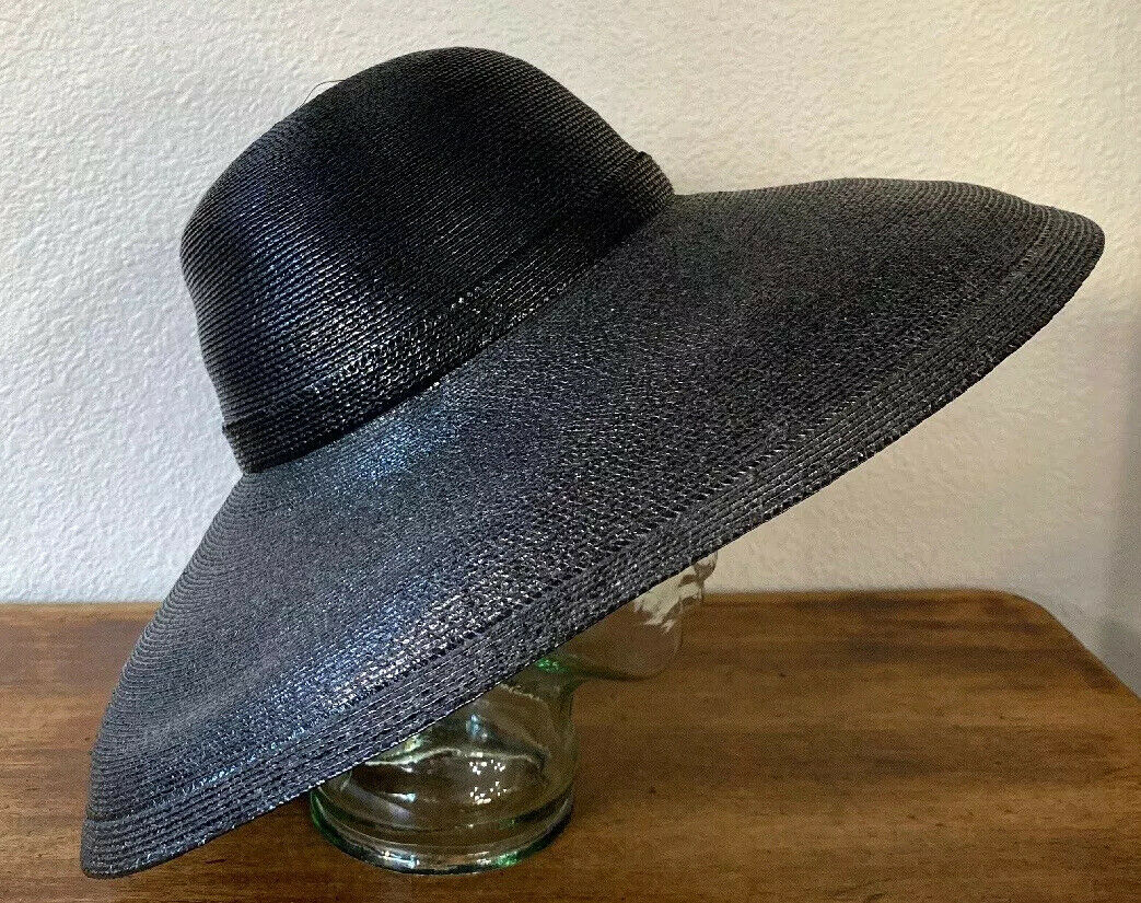 Vintage Amen Wardy Large Hat ! 1980's Large Brim … - image 4