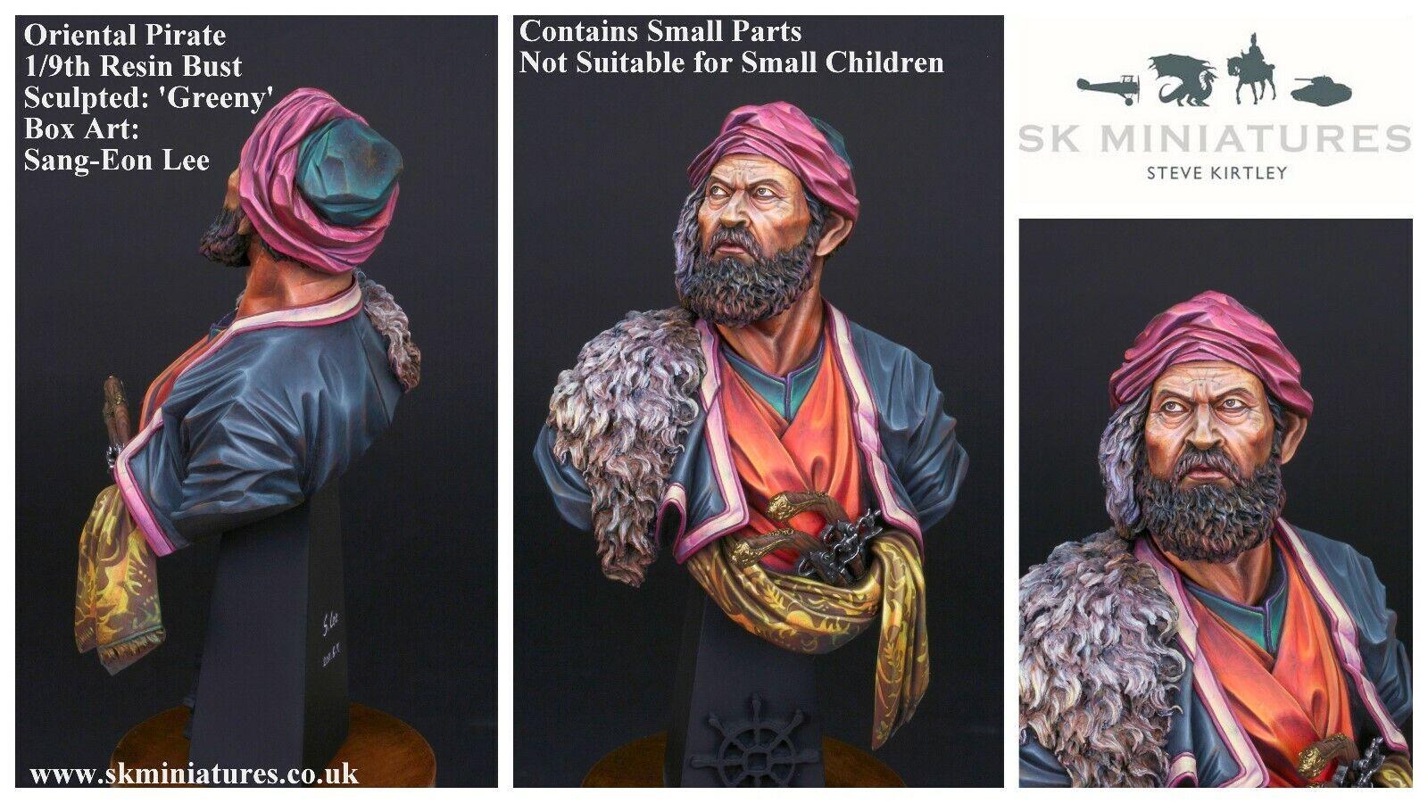 SK Miniatyr Oriental Pirat 1  9th Obelastat busst Kit