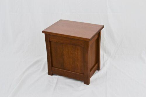 "Slipper chest TE-823 Oak Mission style NEW 15/"""