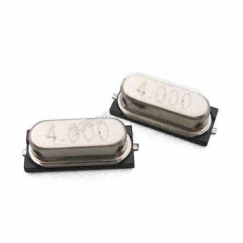 100Pcs Crystal Oscillator HC-49S Smd 4MHZ//4.000 Mhz New Ic ih