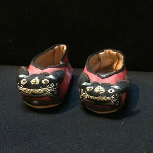 Chinese Silk Embroidered Children Shoes