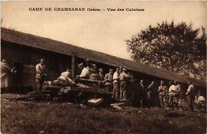Cpa Militaire - Camp De Chambaran - Vue Des Cuisines (698381) Myesak6n-07225948-831427740