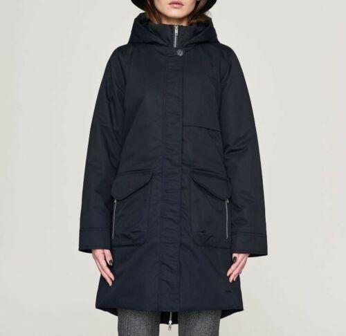 Elvine Womens Monica Winter 33724386016 Slim Dark Navy Blue Size XS