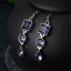 925-Silver-Amethyst-Square-Round-Pear-Drop-Dangle-Hook-Earrings-Jewelry-Gift thumbnail 6