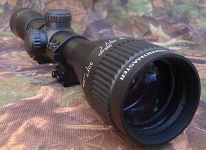 Nikko-Stirling-Mountmaster-4x40-Parallax-AO-Rifle-Scope-3-8-034-9-11mm-Mount-Rings