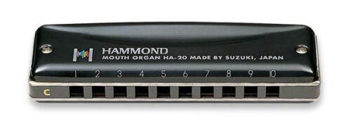 Suzuki Promaster Hammond Harmonica HA-20 NOS Pick a Key 50-60/% OFF SALE