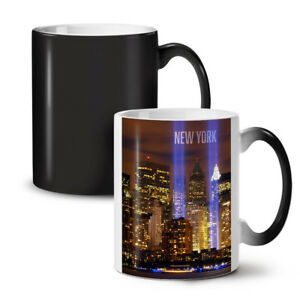 New York City Life NEW Colour Changing Tea Coffee Mug 11 oz | Wellcoda