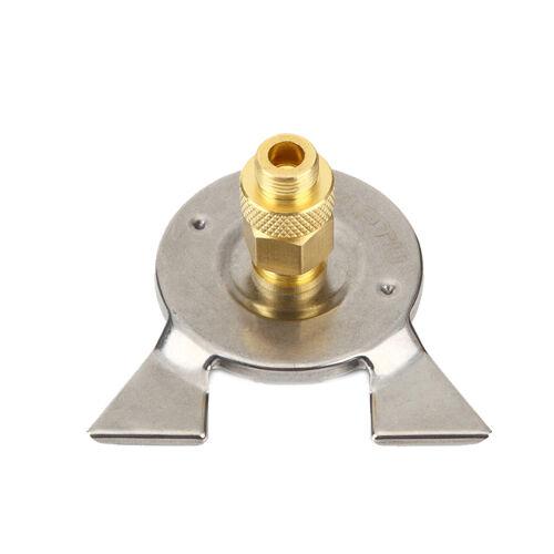 Hiking Camping Stove Burner Connector Propane Butane Gas Tank Valve Head Adaptor