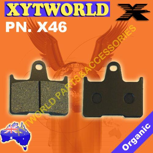 REAR Brake Pads for Kawasaki ZZR 1400 ZX 1400 2006-2013
