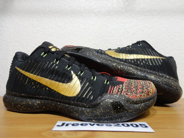separation shoes d5fcb 856fd ... inexpensive nike kobe x 10 elite low xmas christmas 5 rings 802560 076  size 10 10