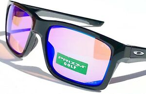c3292bff934 New  OAKLEY MAINLINK Black Polished PRIZM GOLF Iridium Lens Sunglass ...