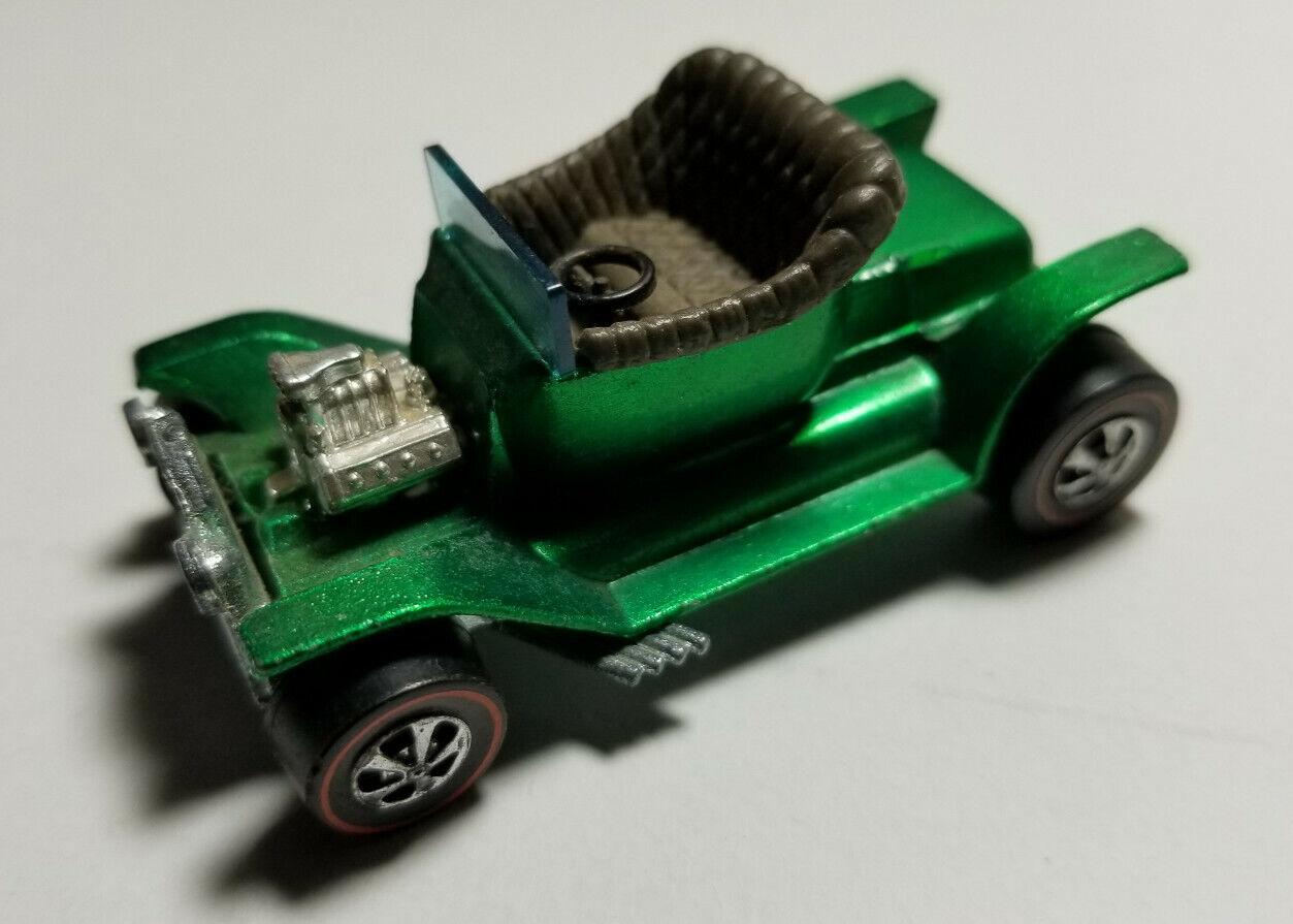 1967 Hot Wheels REDLINE Hot Heap Green EXCELLENT CONDITION