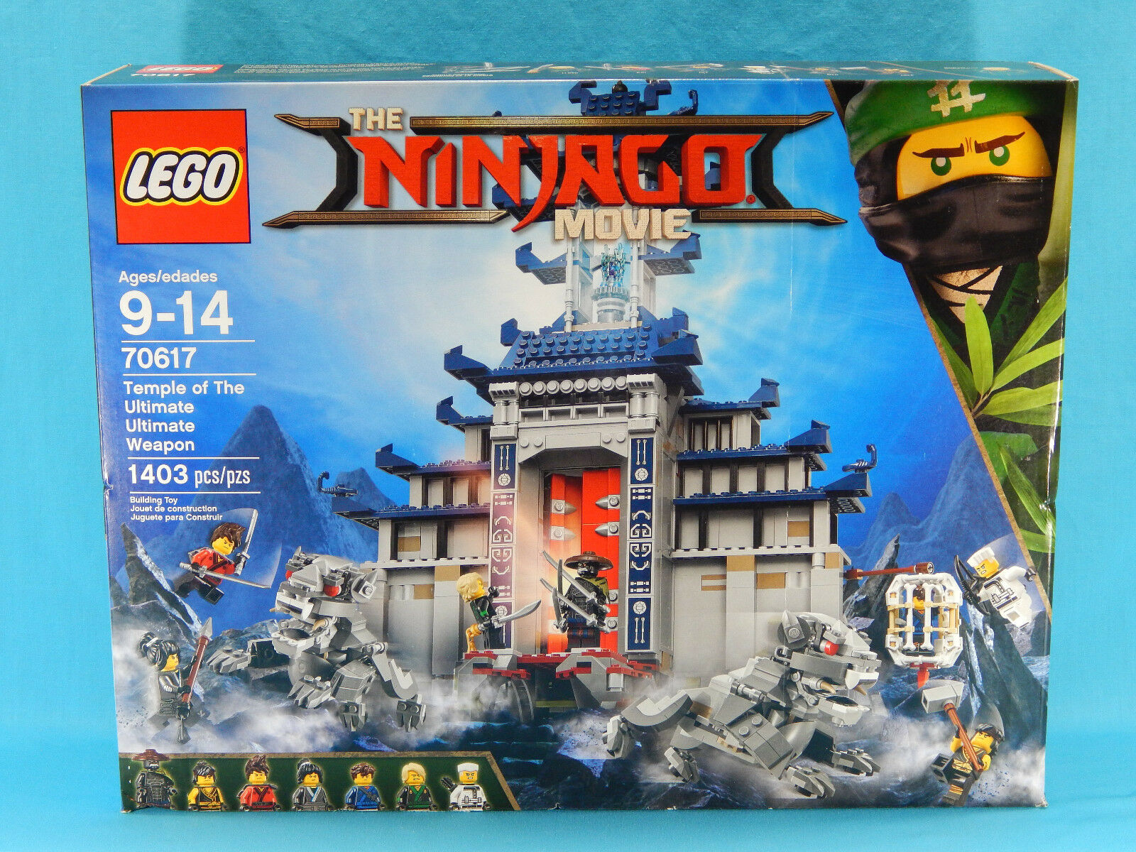 Lego Ninjago Movie 70617 Temple of the Ultimate Weapon 1403pcs New Sealed 2017