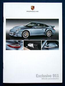 PORSCHE Exclusive 991 911 Hardcover Prospekt Brochure von 2011 ...