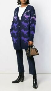 2019 FW Womens Designer Inspired Embroidery Tassel  Oversize Long Cardigan