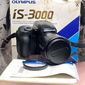 Olympus-IS-3000-35mm-Film-Camera-35-180mm-Lens-testato-veloce-NO-FLASH-LOMO-Retro