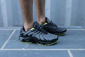 Zapatillas-para-hombre-Correr-Gimnasio-Tenis-transpirables-zapatos-Talla-Nuevo-Negro-Burbuja-De-Aire