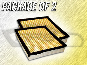AIR FILTER AF4826 FOR 1994 1995 1996 1997 1998 LINCOLN MARK VIII PACKAGE OF TWO