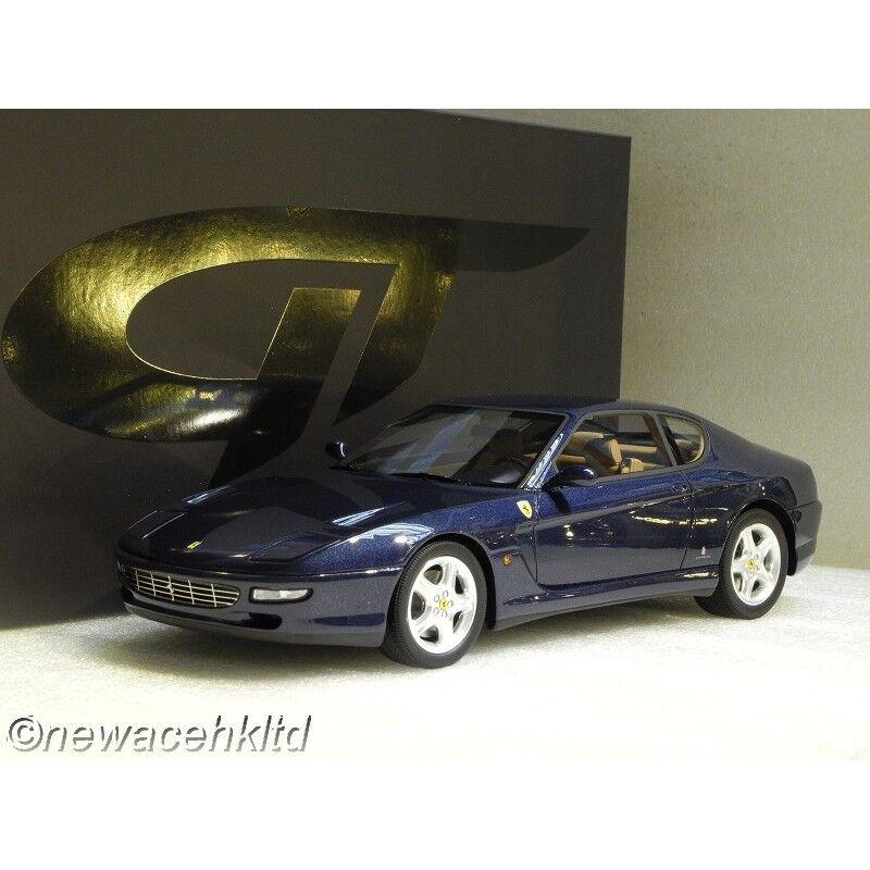 FERRARI 456 GT blueE GT SPIRIT MODEL 1 18  GT239