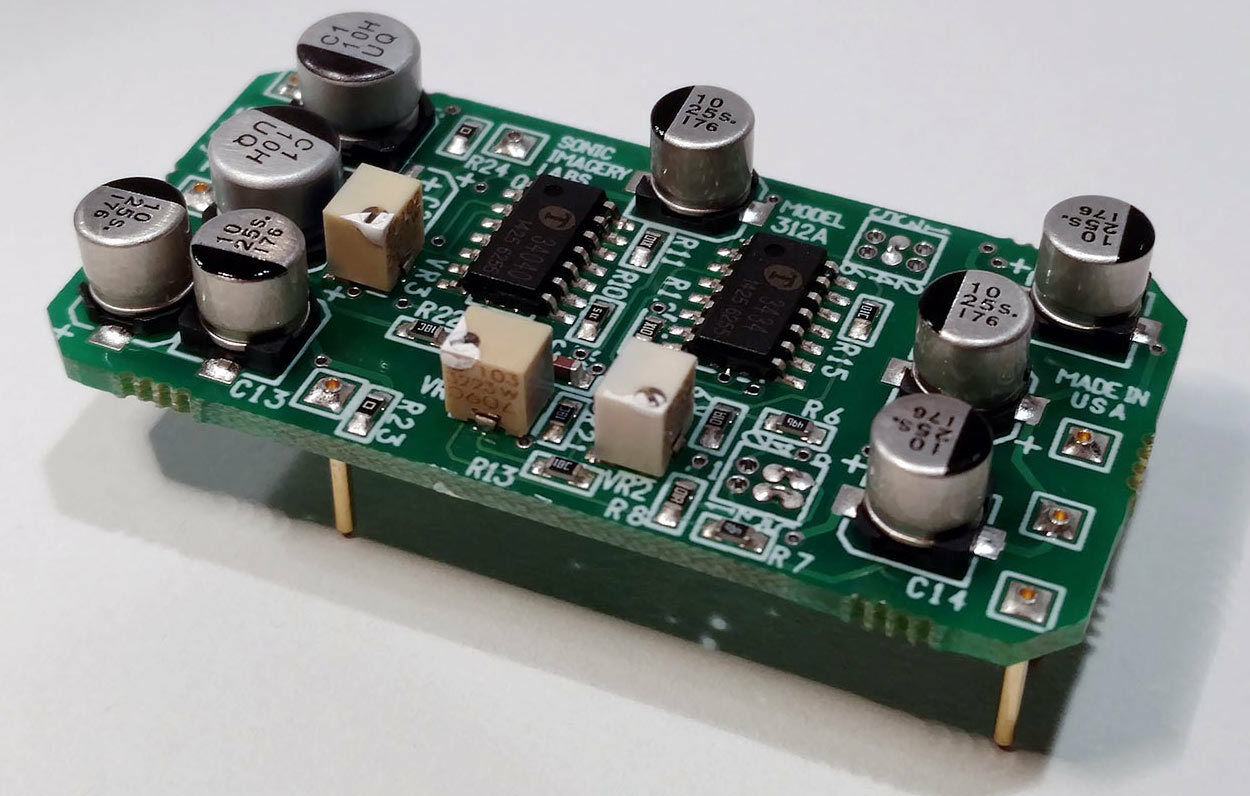 Sonic Imagery Labs 312A Tensione Controllato Amplificatore Vca Compressore
