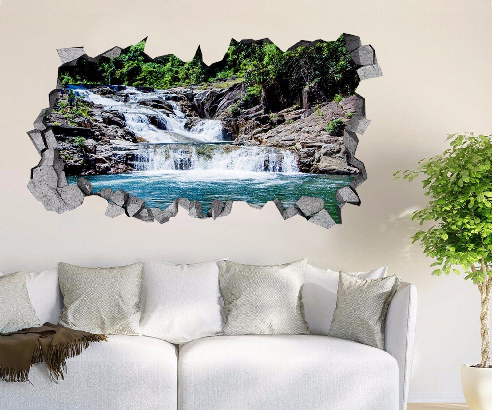 3D Grove Wasser 51 Mauer Murals Aufklebe Decal Durchbruch AJ WALLPAPER DE Lemon