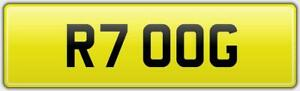 5-DIGIT-SHORT-amp-NEAT-PREFIX-CAR-REG-NUMBER-PLATE-FOR-ANY-VEHICLE-R-1997-UPWARDS