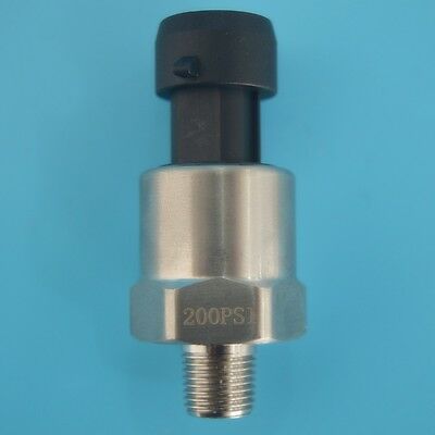 stainless steel 200 psi Pressure transducer or sender for oil/air