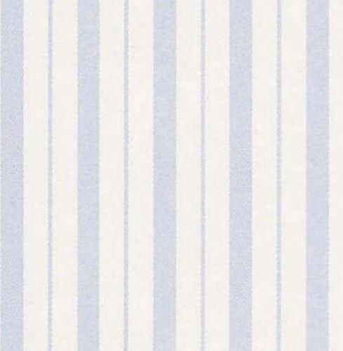 Pack De 4 Azul Beckford Stripe Casa De Muñecas Wallpapers 12 Escala 420 X 297mm