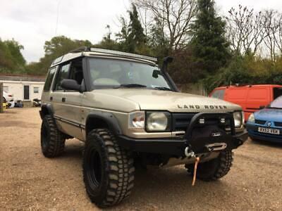 """52/"""" LED Custom Light Bar Brackets to fit Gutters Land Rover Defender"""