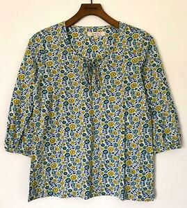 NEW-EX-SEASALT-TREREIFE-UK-SIZE-8-10-12-14-FLORAL-PRINT-COTTON-JERSEY-BLOUSE-TOP