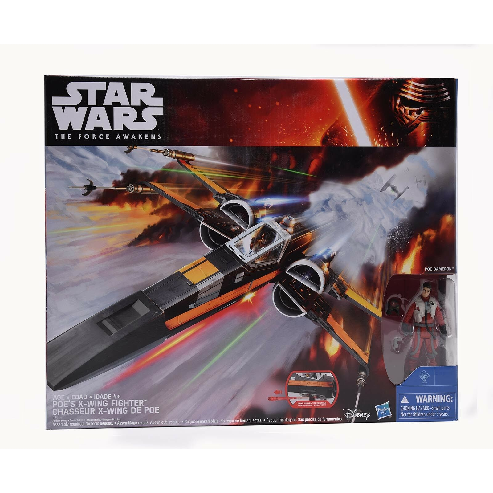 POE'S X-WING FIGHTER Star Wars The Force Awakens Gift Toys Christmas Collection