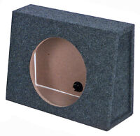 Q Power 10 Inch Slim Truck Shallow Subwoofer Box Space Enclosure on sale