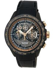 Graham Silverstone RS Skeleton Black and Gold Chronograph Men's Watch 2STAZ.B02A